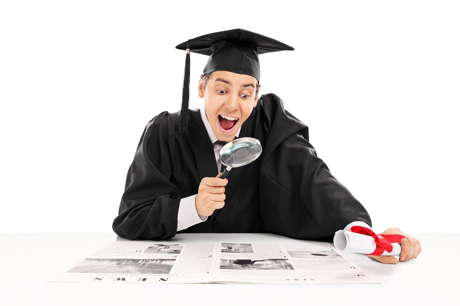recent college graduate job search