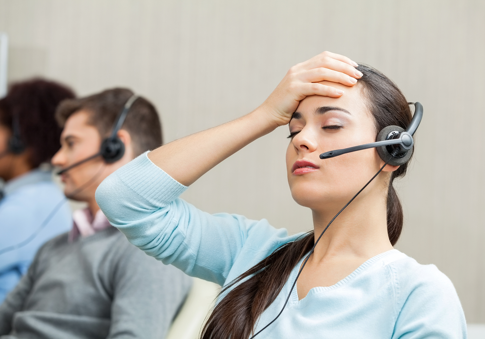 managing stress in customer service