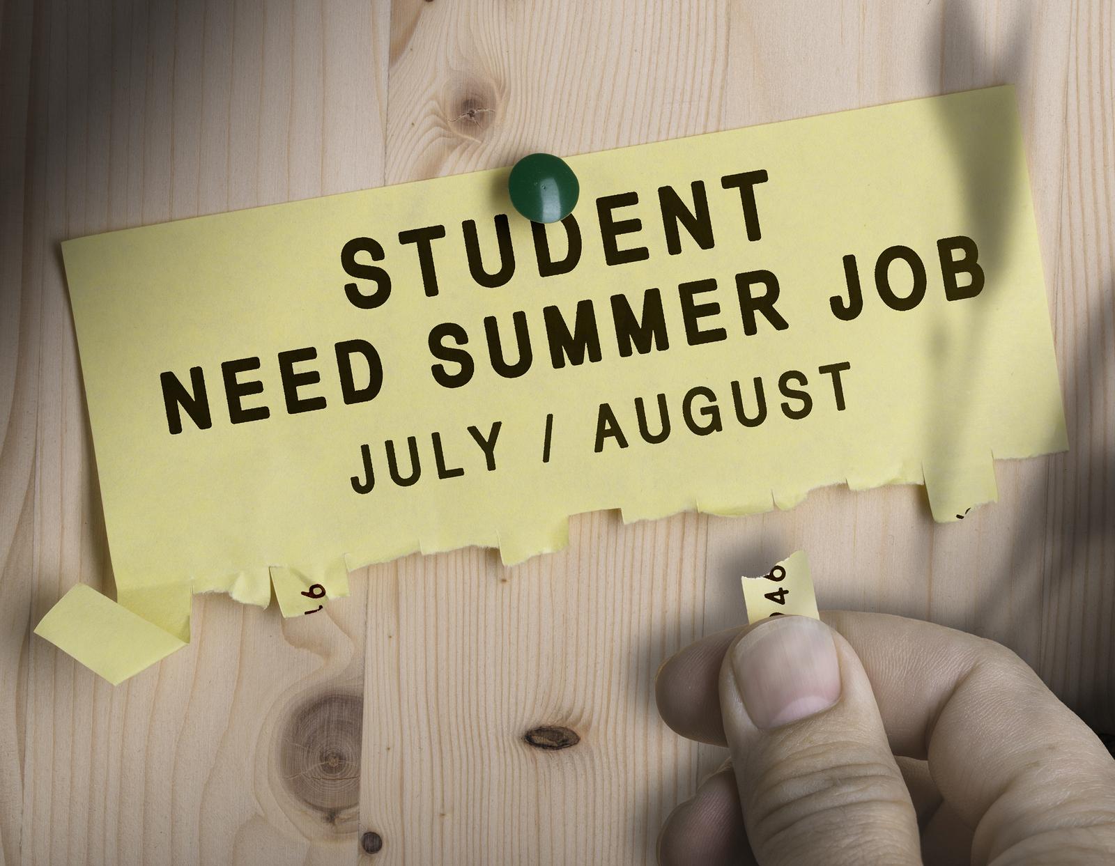 high paying summer jobs